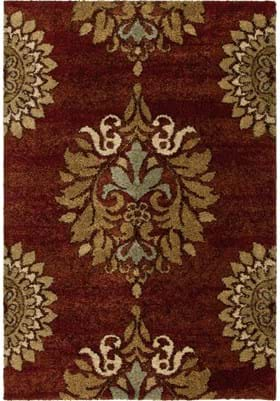 Orian Rugs Jacqueline 1610 Rouge