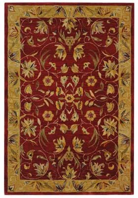 Safavieh AN526A Burgundy Gold