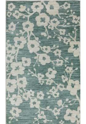 American Rug Craftsmen Burbank Blossom 12338 Teal 229