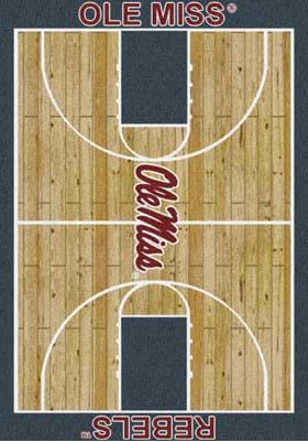 Milliken University of Mississippi Home Court 1186