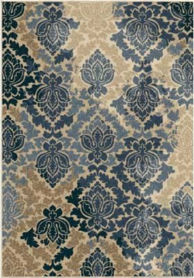 Orian Rugs Allover Damask 1831 Multi