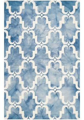 Safavieh DDY536K Blue Ivory