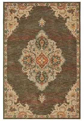Oriental Weavers 9568 C Charcoal Orange