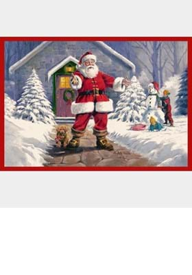 Milliken RJ McDonald 4533 Welcome Santa c2002