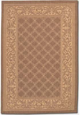 Couristan 1016 Garden Lattice 3000 Natural Cocoa
