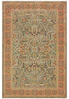 Oriental Weavers 9537 B Blue Orange