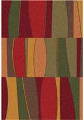 Milliken Sinclair 7521 Tapestry Red 187