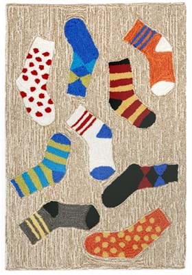 Trans Ocean Lost Socks 154194 Multi