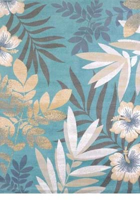 United Weavers 595-40160 Sea Garden Blue