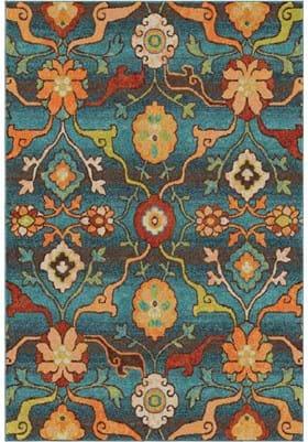 Orian Rugs Tibet 2825 Blue