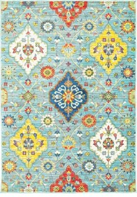 Oriental Weavers 4929L Blue Multi