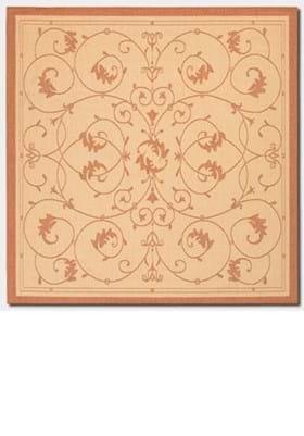 Couristan 1583 Veranda 1112 Natural Terracotta