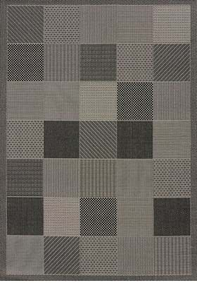 United Weavers 101-40172 Patio Block Grey