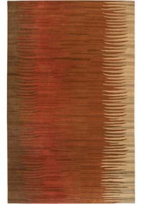 Surya MOS-1004 Brown Orange