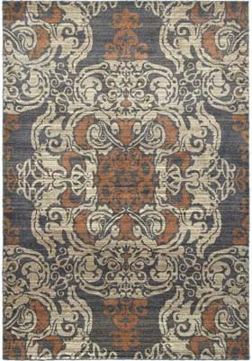 Oriental Weavers 8022K Blue Rust
