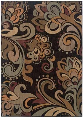 Oriental Weavers 2848C Brown