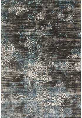 Loloi Rugs KT-02 Charcoal Blue