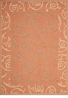 Safavieh CY7108-21A7 Terracotta Cream