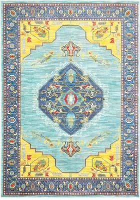 Oriental Weavers 564L Blue Yellow