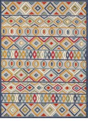 KAS 6928 Ivory Multi Aztec