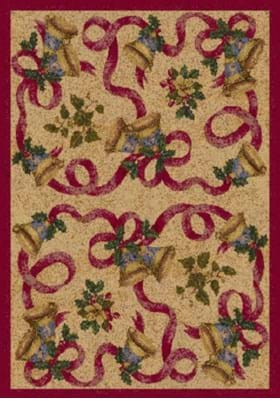 Milliken Holiday Rugs 4533 Bells and Bows 15