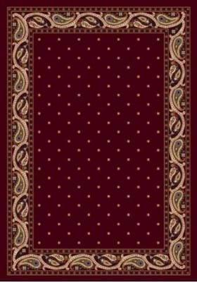 Milliken Paisley 7318 Garnet 10000
