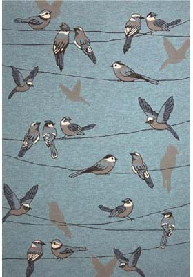 KAS Birds On A Wire 4222 Blue