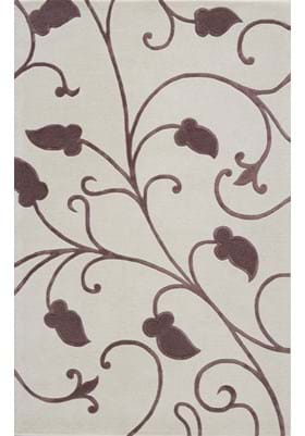 Rugs America 4635D Mirage White