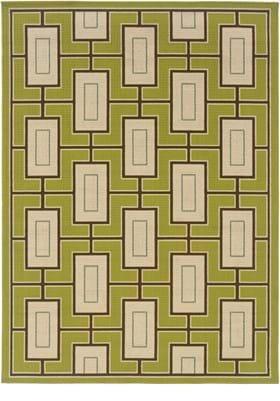 Oriental Weavers 4928G Green Ivory
