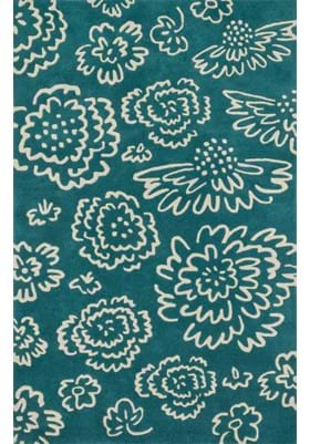 Loloi Rugs NV-06 Teal Ivory