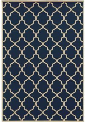 Oriental Weavers 4770L Blue Ivory