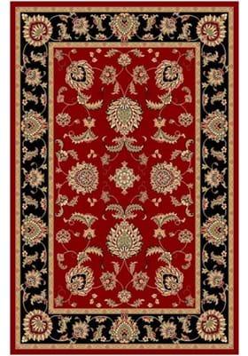 KAS Bijar 7342 Red Black