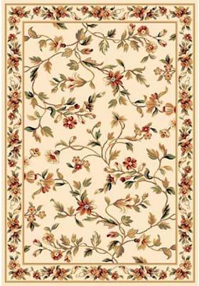 KAS Floral Vine 7331 Ivory