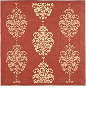 Safavieh CY2720 3707 Red Natural