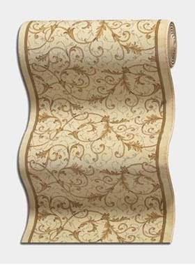 Couristan 3318 Royal Scroll B832A Antique Linen