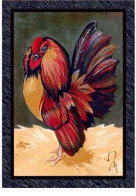 Milliken Provincial Rooster 7329 Emerald 11000