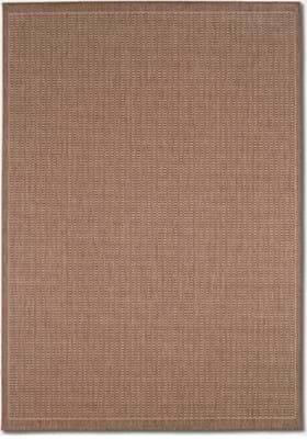Couristan 1001 Saddle Stitch 1500 Cocoa Natural