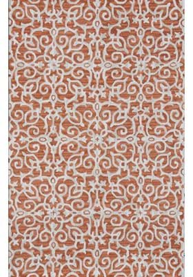 Dynamic Rugs 7861 706 Rust Ivory