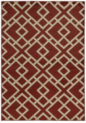 Oriental Weavers 3685J Red Light Grey