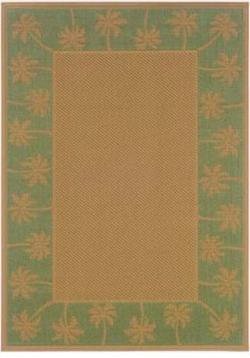 Oriental Weavers 606F6 Green