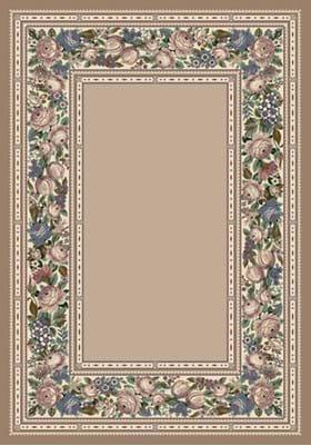 Milliken English Floral 4500 Pearl Mist 1000