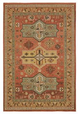 Oriental Weavers 9571 A Orange Gold