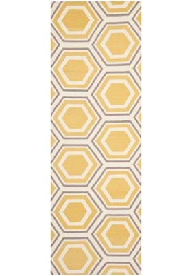 Safavieh DHU202A Ivory Yellow