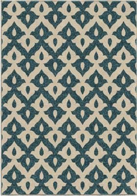 Orian Rugs Tribal Trellis 2365 Blue