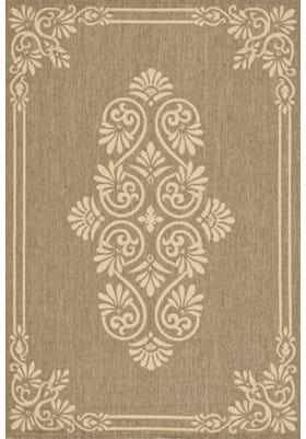 Safavieh CY6855-22 Brown Creme