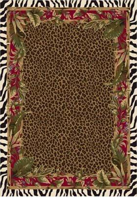 Milliken Jungle Safari 4559 Ruby 8000