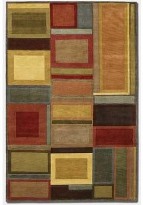 Couristan 9382 Iridescent Blocks 0786 Multi Color