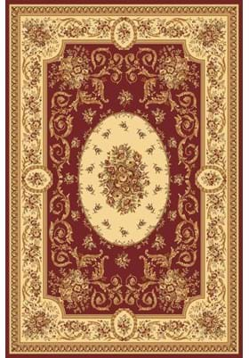 Rugs America 4277 Medallion Red