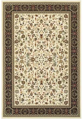 Oriental Weavers 108X Ivory Black