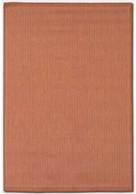 Couristan 1001 Saddle Stitch 4000 Terracotta Natural
